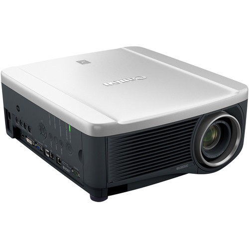 Canon WUX6500 REALiS WUXGA 6500-Lumen LCoS Projector with Standard Zoom Lens