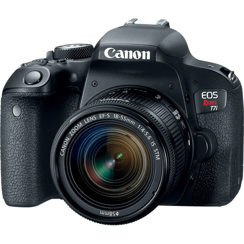 Canon EOS Rebel T7i DSLR Camera with 18-55mm Lens 1894C002