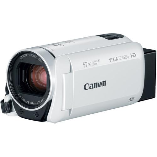 Canon VIXIA HF R800 Camcorder (White)