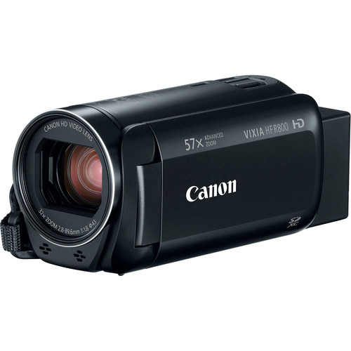 Canon VIXIA HF R800 Camcorder (Black, Refurbished)