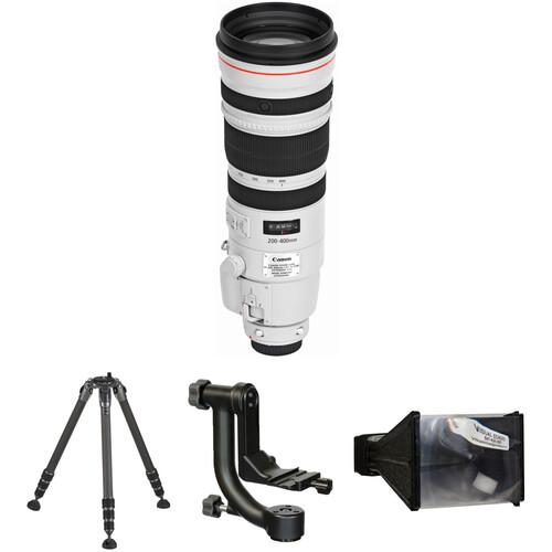 Canon EF 200-400mm f/4L IS USM Extender 1.4x Lens Wildlife Kit