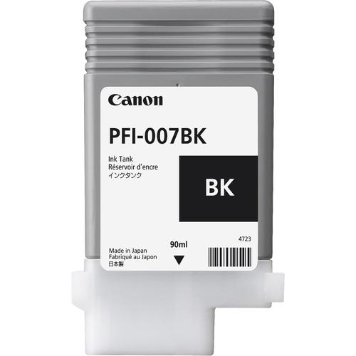 Canon PFI-007BK Black Ink Tank (90mL)
