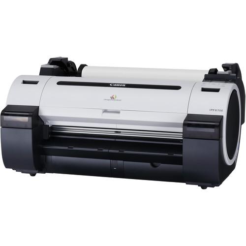 "Canon imagePROGRAF iPF670E 24"" Large-Format Inkjet Printer"