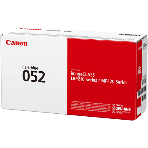 Canon imageCLASS 052 Toner Cartridge (Black)