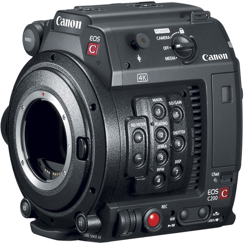 Canon EOS C200B Cinema Camera (Body Only) (EF-Mount)
