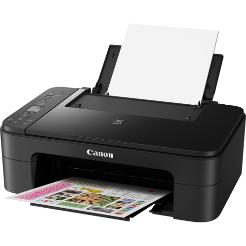 Canon PIXMA TS3120 Wireless All-in-One Inkjet Printer (Black)