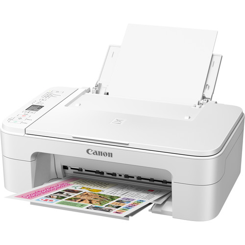 Canon PIXMA TS3120 Wireless All-in-One Inkjet Printer (White)