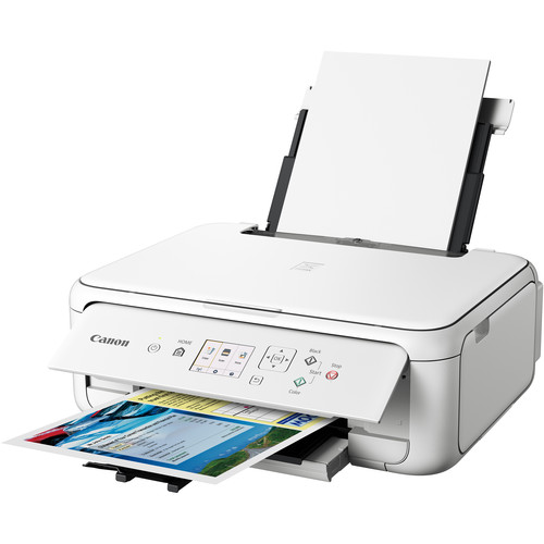 Canon PIXMA TS5120 Wireless All-in-One Inkjet Printer (White)
