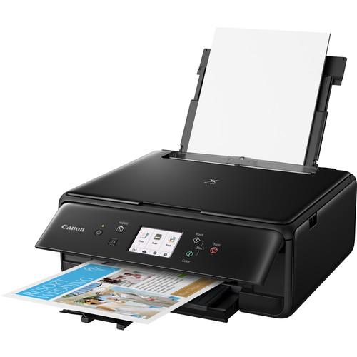 Canon PIXMA TS6120 Wireless All-in-One Inkjet Printer (Black)
