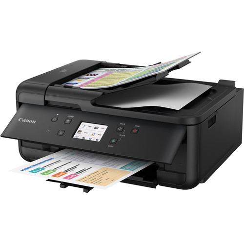 Canon PIXMA TR7520 Wireless Home Office All-in-One Inkjet Printer (Black)