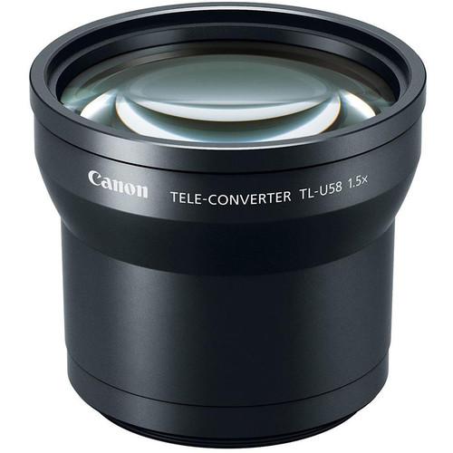 Canon - TL-U58 Tele-Converter Lens (1.5x)