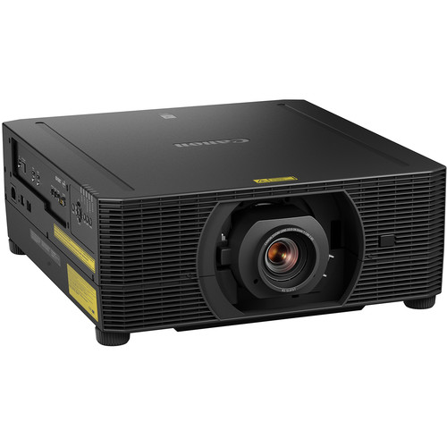 Canon 2503C002 4K 5000 Lumens Laser Projector Includes Dicom Simulation Mode without Lens (Black)
