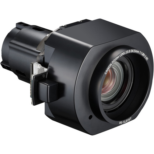 Canon RS-SL01ST 1.49 to 2.24:1 Standard Zoom Lens for Select REALiS Projectors