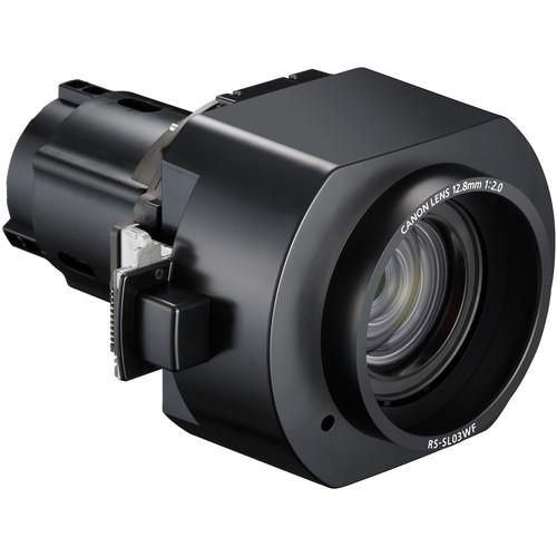 Canon RS-SL03WF 0.80:1 Short Fixed Lens for Select REALiS Projectors