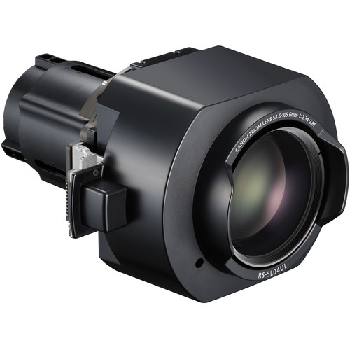 Canon RS-SL04UL 3.55-6.94:1 Ultra-Long Zoom Lens for Select REALiS Projectors