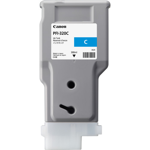 Canon PFI-320 Cyan Ink Cartridge (300mL)