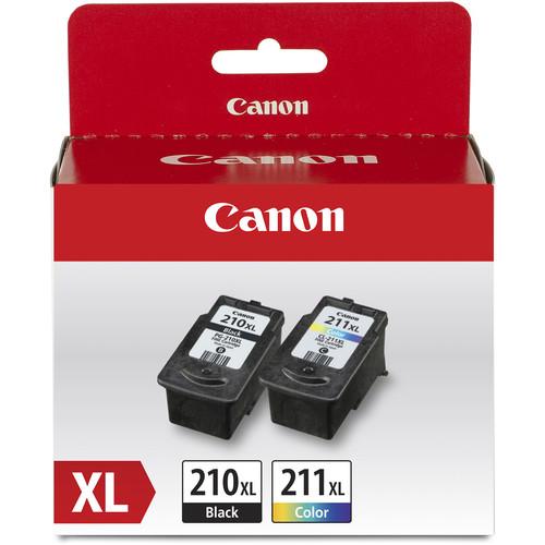 Canon PG-210XL Black & CL-211XL Color Ink Value Pack