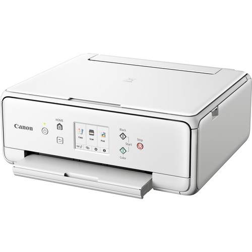 Canon Pixma TS6220 Wireless Inkjet All-In-One Photo Printer (White)