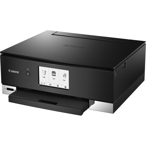 Canon Pixma TS8220 Wireless Inkjet All-In-One Photo Printer (Black)