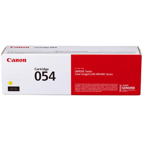 Canon 054 Standard-Capacity Yellow Toner Cartridge