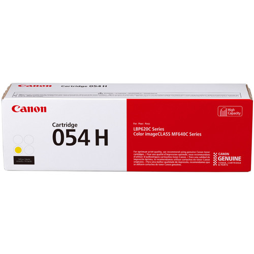 Canon 054 High-Capacity Yellow Toner Cartridge