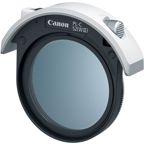 Canon Drop-In Circular Polarizing Filter PL-C 52 (WIII)