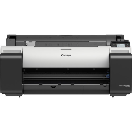 "Canon imagePROGRAF TM-200 24"" Large-Format Inkjet Printer (Without Stand)"