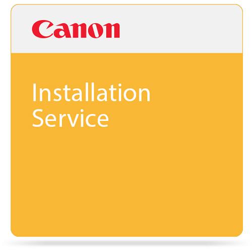 Canon Installation of PRO-Series Printer
