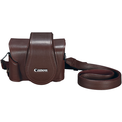 Canon PSC-6300 Deluxe Leather Case for PowerShot G1 X Mark III