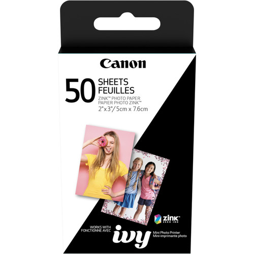 "Canon 2 x 3"" ZINK Photo Paper Pack (50 Sheets)"