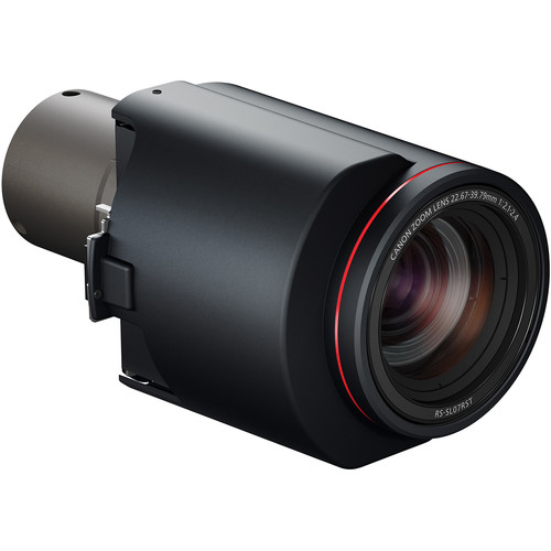 Canon RS-SL07RST 1.34 to 2.35:1 Standard Zoom Lens for the Canon 4K5020 & 4K6020Z Projectors