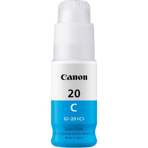 Canon GI-20 Cyan Ink Bottle (70mL)
