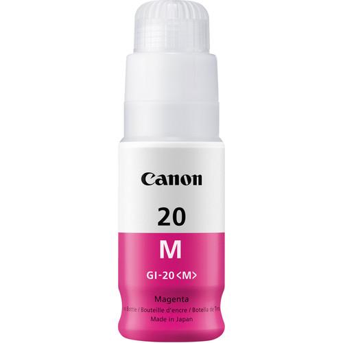 Canon GI-20 Magenta Ink Bottle (70mL)