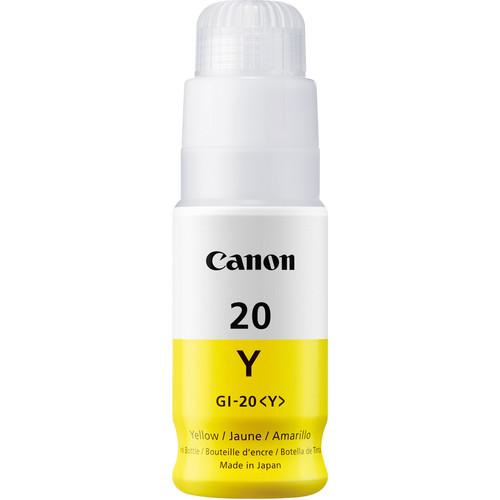 Canon GI-20 Yellow Ink Bottle (70mL)