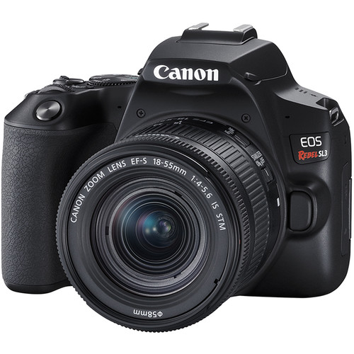 Canon EOS Rebel SL3 DSLR Camera with 18-55mm Lens (Black)