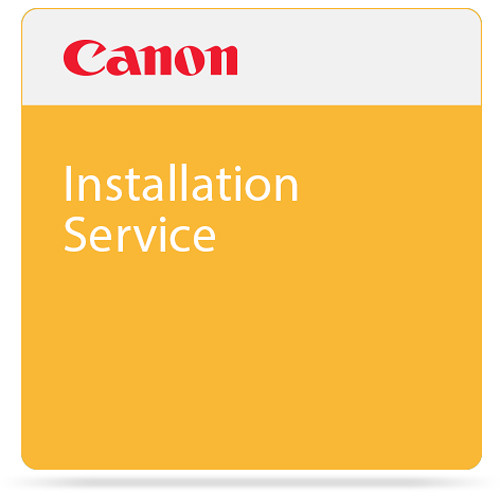 Canon Installation Service for TM-300 Large-Format Printer with L36ei Scanner