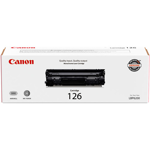 Canon 126 Black Toner Cartridge