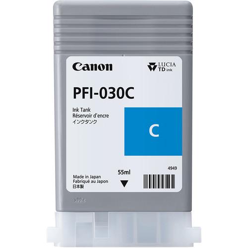 Canon PFI-030 Cyan Ink Tank (55mL)