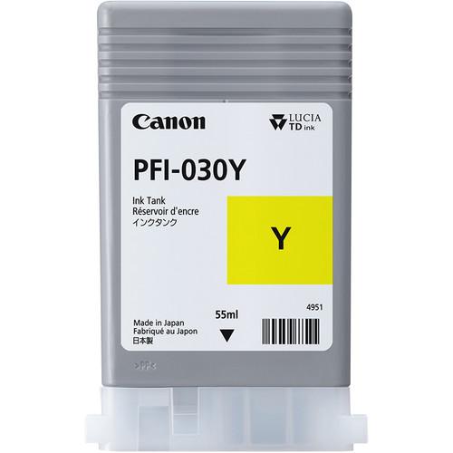 Canon PFI-030 Yellow Ink Tank (55mL)