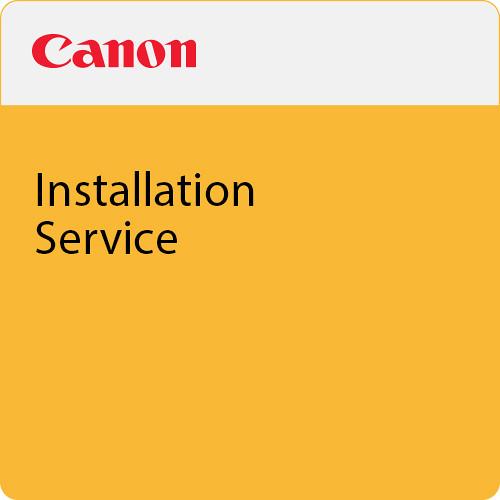 Canon TA Series Installation Service