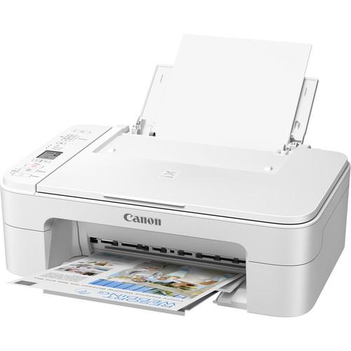 Canon PIXMA TS3320 Wireless Inkjet All-in-One Printer (White)