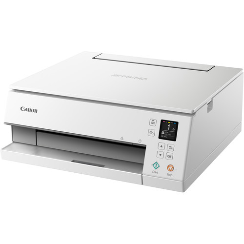 Canon PIXMA TS6320 Wireless Inkjet All-in-One Printer (White)