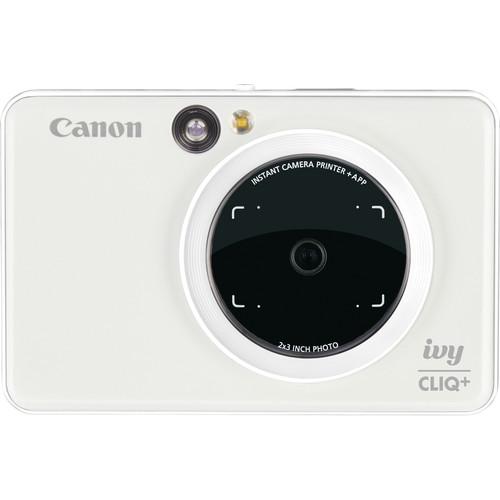 Canon IVY CLIQ+ Instant Camera Printer (Pearl White)