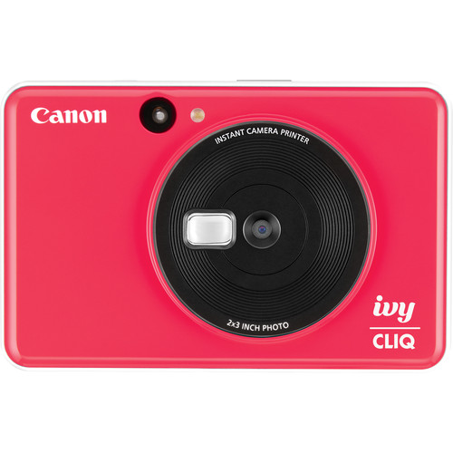 Canon IVY CLIQ Instant Camera Printer (Ladybug Red)