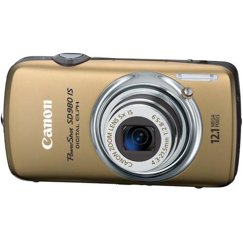 Canon PowerShot SD980 IS Digital Camera (Gold)