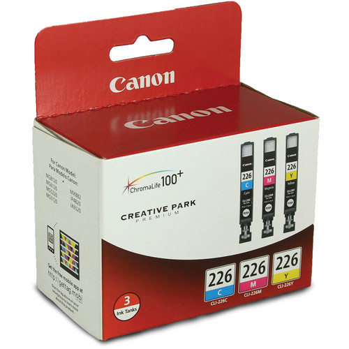 Canon CLI-226 Three-Color Ink Tank Pack