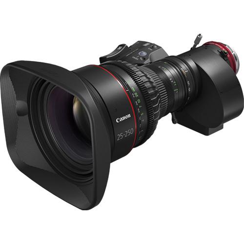 Canon CINE-SERVO 25-250mm T2.95 Cinema Zoom Lens (PL Mount)