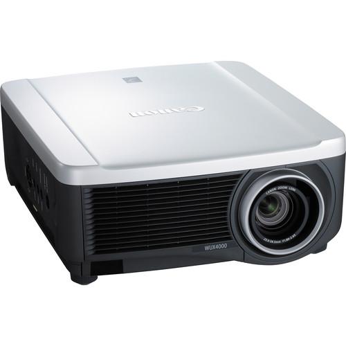 Canon REALiS WUX4000 D LCoS Projector Bundle Kit