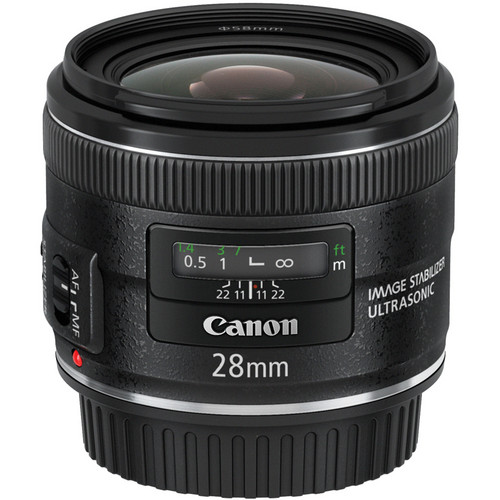 Canon EF 28mm f/2.8 IS USM Lens