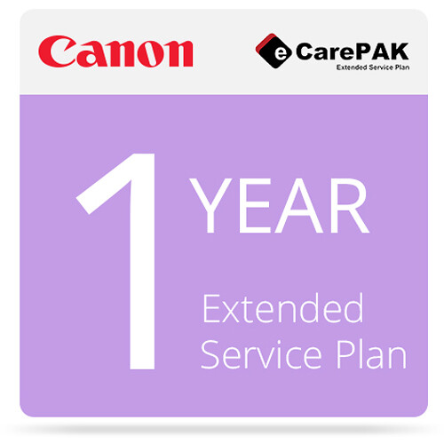 Canon 4-Year eCarePAK Extended Service Plan for imageCLASS D570 (Tier 1E)